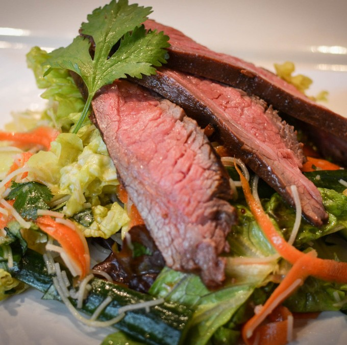 how to make thai grilled beef salad