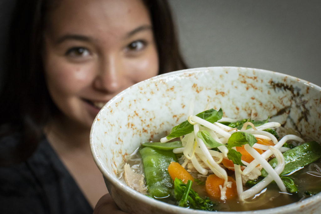 Cheater's Pho - Vietnamese Chicken Noodle Soup